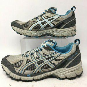 Asics Womens 9 Gel Kahana Lace Up Low Running Shoe